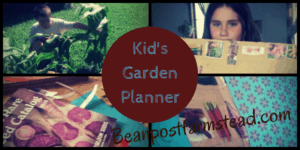 A fun activity to get your kids excited about gardening and teach them planning skills