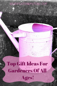 Gift Ideas For Gardeners Of All Ages! Gifts for gardeners of all ages that will be sure to please!