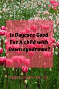 Is Daycare Good For A child with Down syndrome?