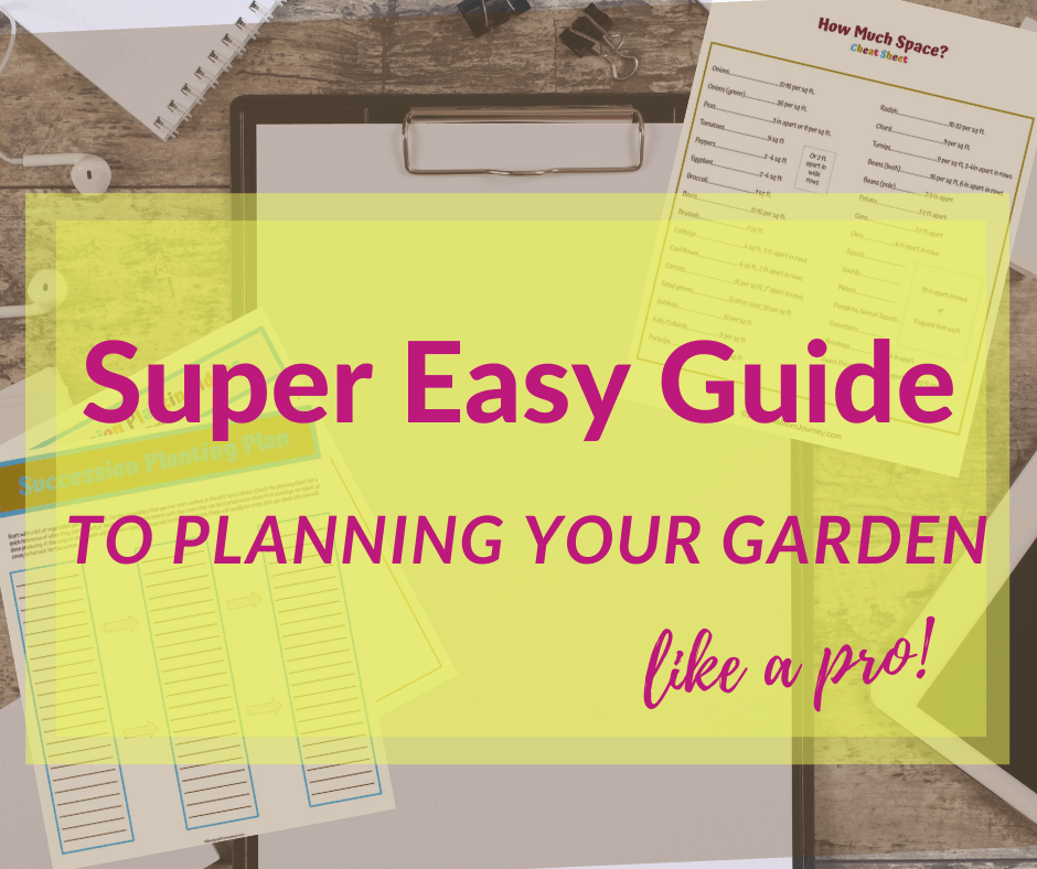 garden planning guide for beginners. garden planning printables